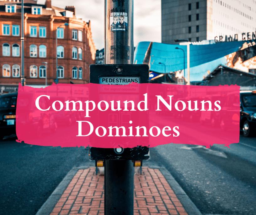 esl vocabulary dominoes town
