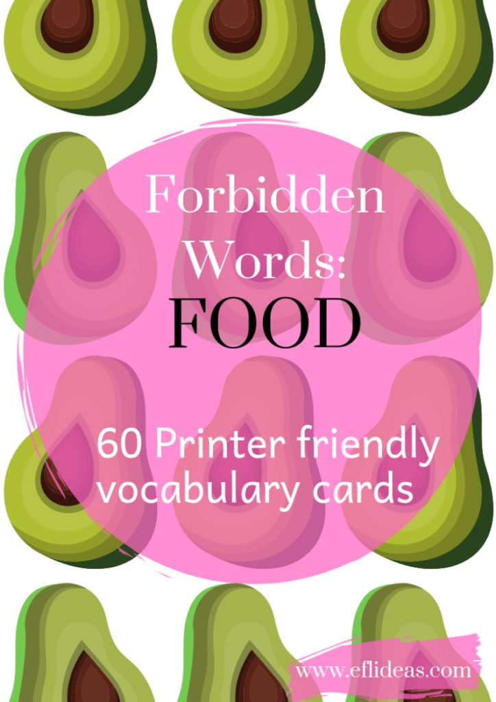 esl resources vocabulary activity