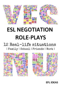 esl negotiation role plays